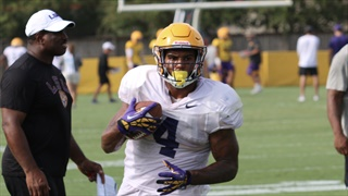 Tuesday LSU practice video's