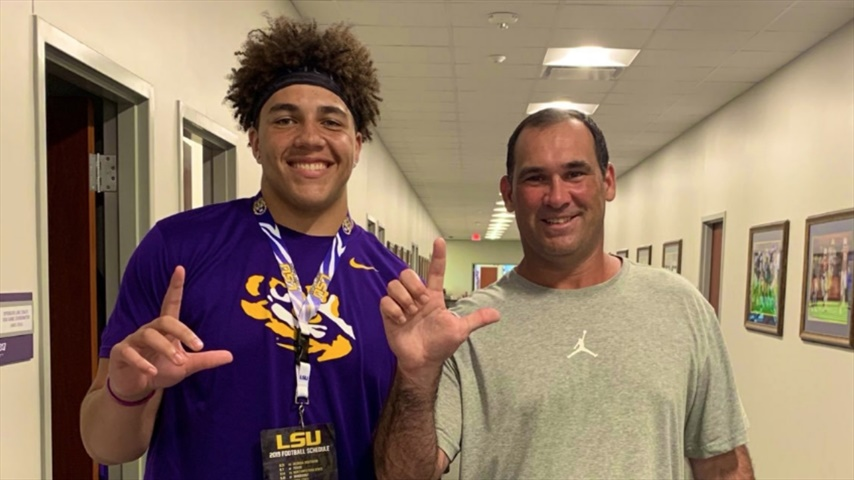 Q&A with LSU offensive tackle target Tristan Leigh
