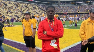 Recruits react to LSU's win over Auburn