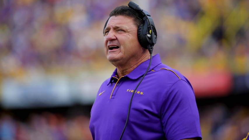 Ed Orgeron goes into detail on how fix this LSU team