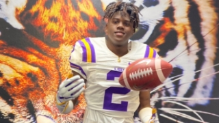 LSU commit Decoldest Crawford is packing on muscle