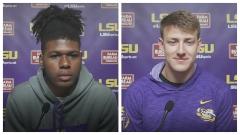 LSU quarterbacks talk about it