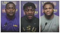 LSU football interviews: Boutte, Clark and Ingram