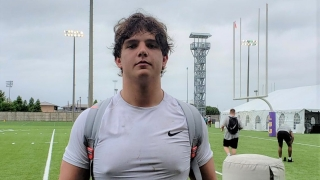 WATCH: 5-star Will Campbell at LSU's Coach O camp