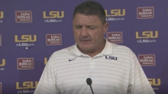 WATCH: Ed Orgeron Central Michigan postgame