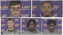 WATCH: Bech, Stingley, Johnson, Ojulari and Clark talk win over Central Michigan